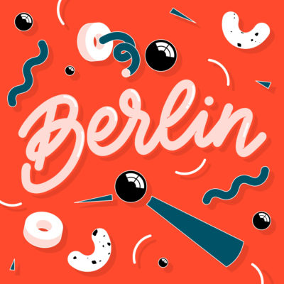 Ju Schnee The Washington Post Berlin Online Lettering key visual